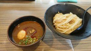京都五条・吟醸らーめん 久保田、吟醸つけ麺 味噌に玉子