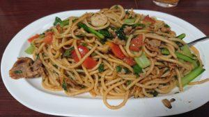 ジャポネのスパゲッティ