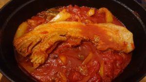 豚トマト野菜煮込み