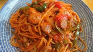 ケチャップなスパゲッティナポリタン
