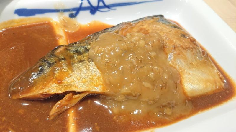 松屋の鯖の味噌煮