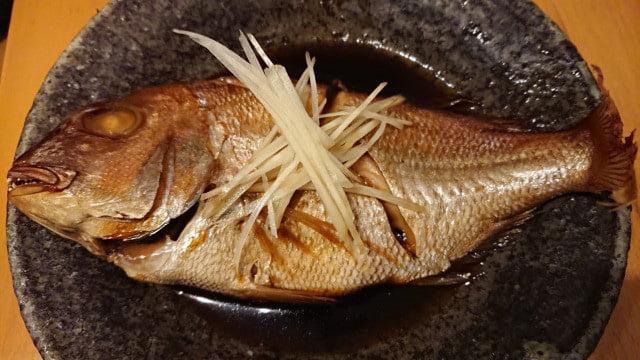 野郎飯流・鯛の煮付け